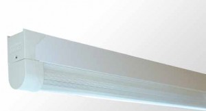Diffused Batten - Single Tube