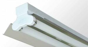 Mirror Reflector Batten - Twin Tube With Specular Aluminium Reflector