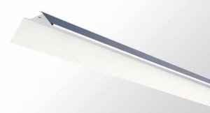 Reflector Kit - Single And Twin Tube With White Powder Coated Metal