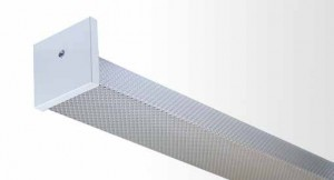 Square Diffuser Batten - Single And Twin Tube With Prismatic Diffuser