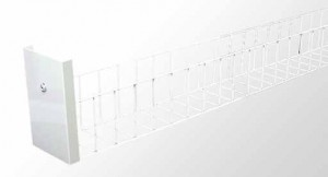 Wire Guard Kit - Single And Twin Tube With White Powder Coated Metal