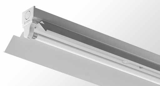 LPR - Reflector Batten - Single tube