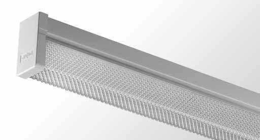 LPS - Square Diffused Batten - Single tube