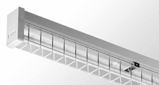 LPW - Wire Guarded Batten - Single tube