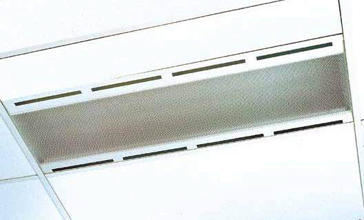 Recessed Air Handling T/Bar T5 - Atlas Performance Air Handling Recessed T/Bar