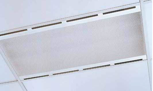 Recessed Air Handling T/BarT8 - Atlas Performance Air Handling Recessed T/Bar