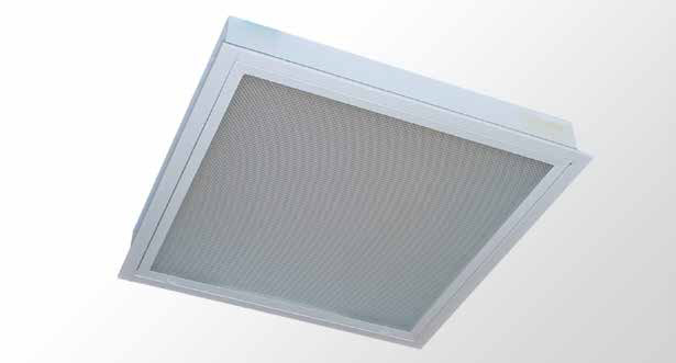 Recessed Plaster With Hinged Framed Diffuser T8